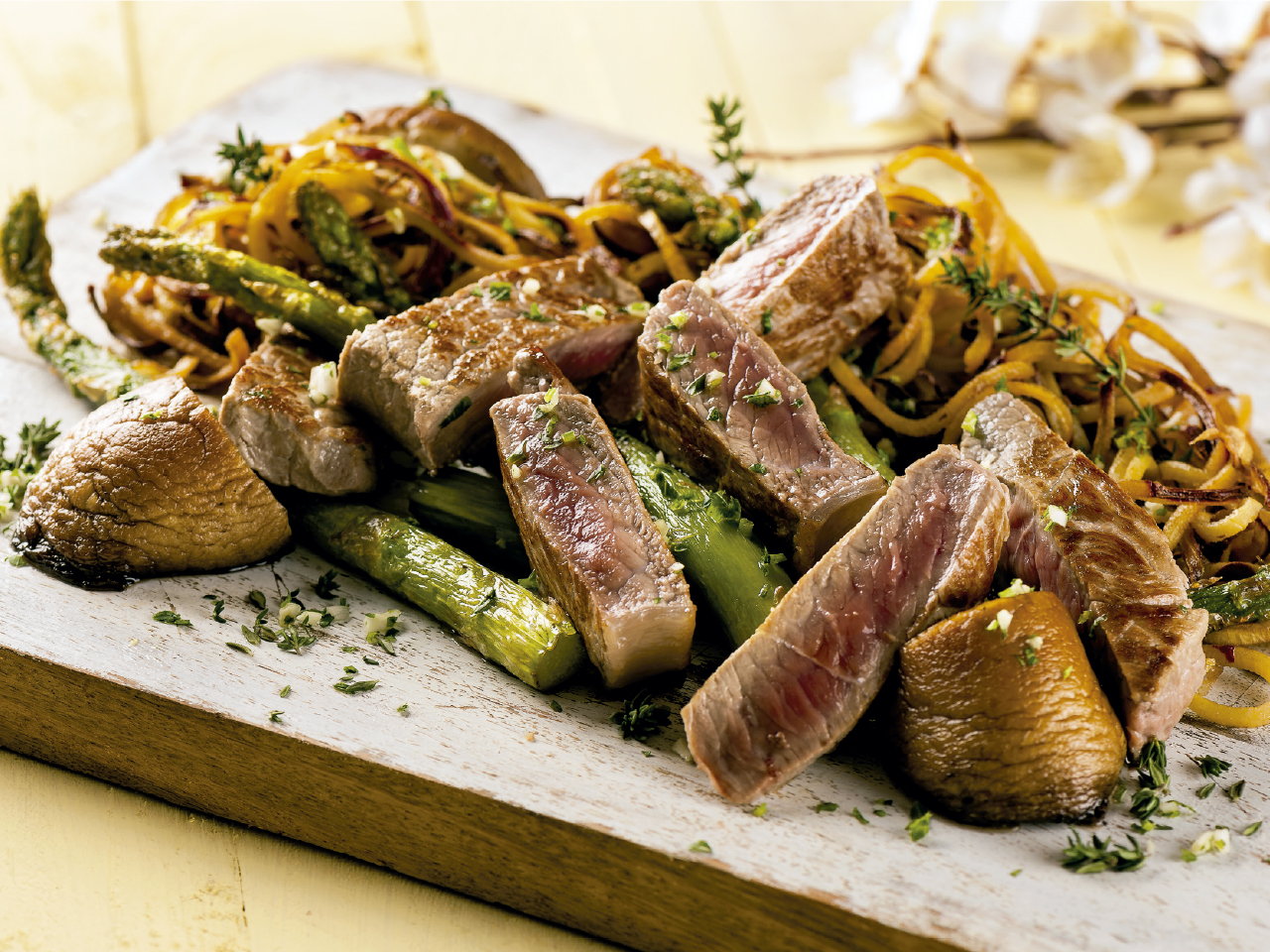 bife-cogumelos-batata